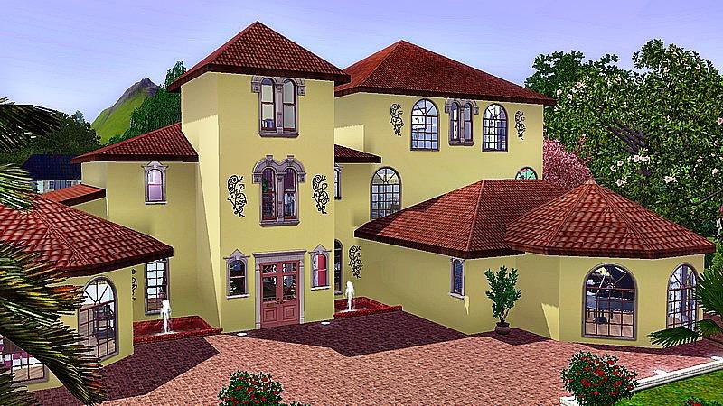 Florida studiosims creation for Interieur maison americaine