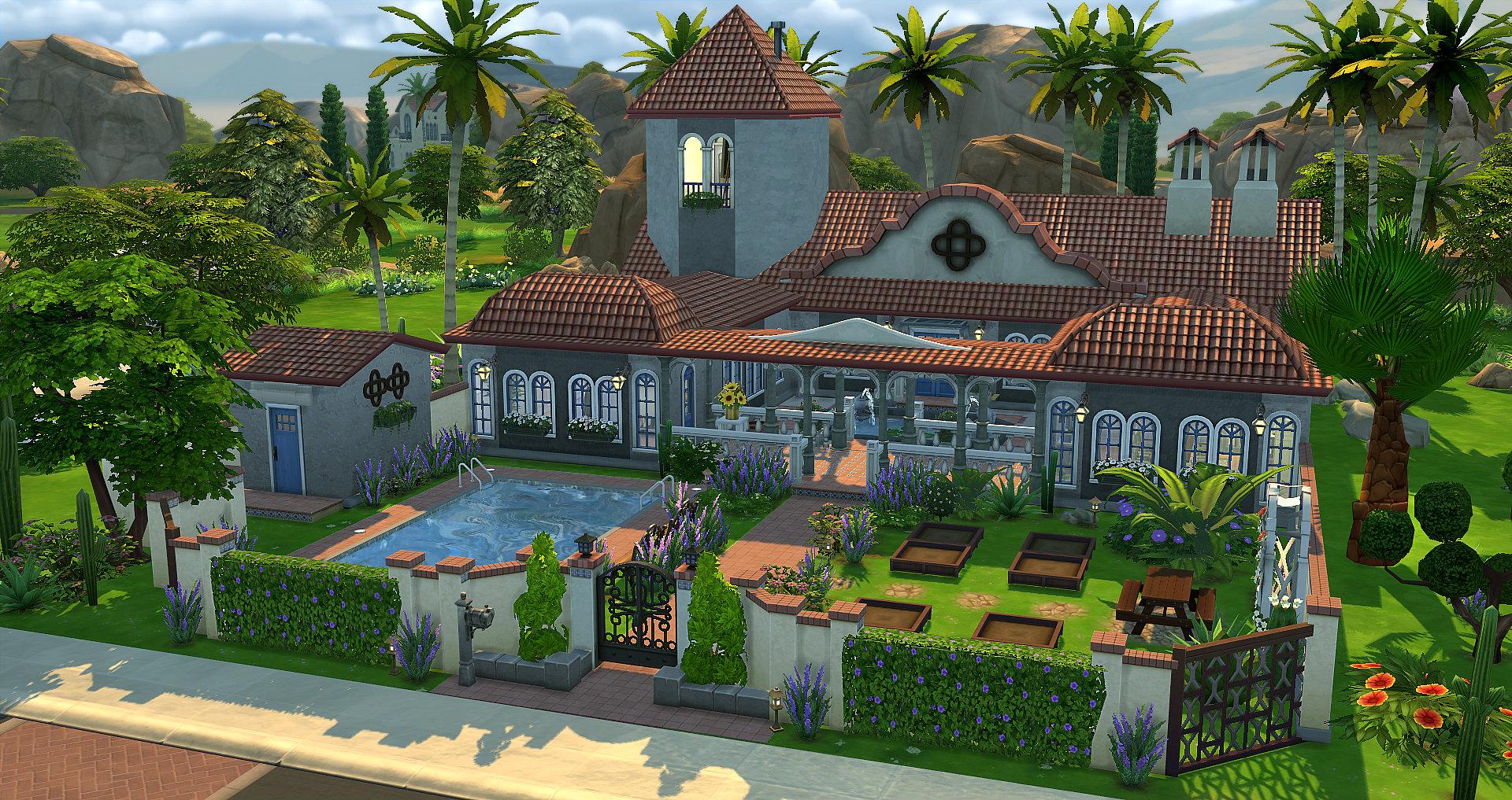 Havane studiosims creation for Maison sims 4 piscine