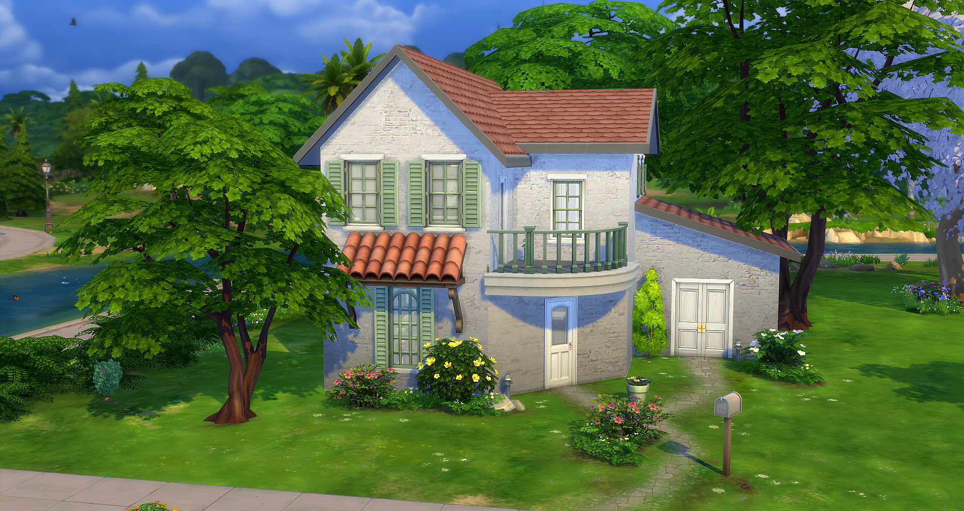 Pivoine starter studiosims creation for Decoration maison sims 4