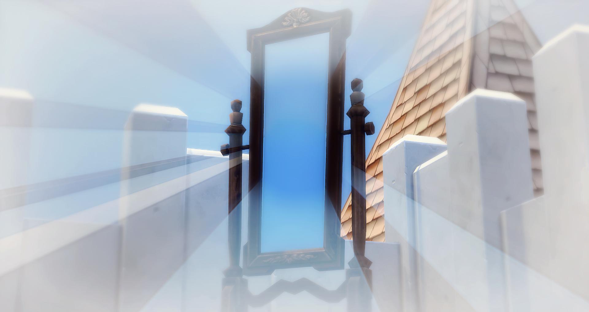 Pr lude de l 39 autre c t du miroir studiosims creation for L autre cote du miroir