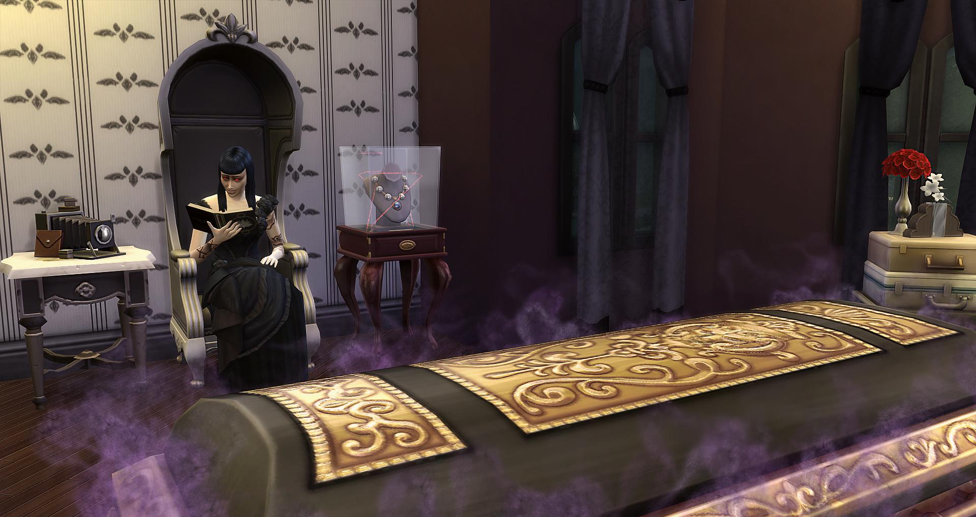 dans le tombeau